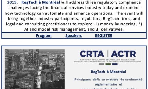 RegTech à Montréal